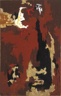 Clyfford Still, PH-199, 1946. Oil on canvas. 71 x 45.5 inches. Collection of the Albright-Knox Art Gallery, Buffalo, NY.