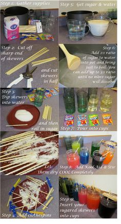 Rock Candy.  Mmmmmmm, pure sugar on a stick.  I saw some rock candy this weekend and wanted to buy a few sticks for my kids but for $1 a sti...