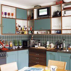 Basement kitchen | Mary Portas, Queen of Shops house tour | housetohome.co.uk