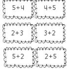 turn around fact concentration game (commutative property of addition for primary students) Math Properties, Properties Of Addition, Math Stations, Math Centers, Math Enrichment, Math Activities, Commutative Property Of Addition, Math Classroom, Classroom Ideas