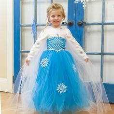 New FREE Project Sheet! Tulle Dress - inspired by Disney's Frozen http://projects.portersonline.com/2014/07/22/tulle-dress-inspired-by-disneys-frozen/
