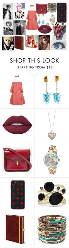 """""""EXO Luhan"""" by btsloveforlife on Polyvore featuring Boohoo, Jona, Lime Crime, Akribos XXIV, Zero Gravity, Effy Jewelry and Amrita Singh"""