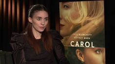 """Carol: Rooney Mara """"Therese"""" Official Movie Interview"""