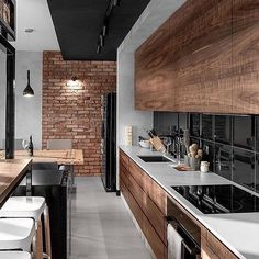 Kitchen goals? Follow @top.buildings Comment your thoughts! . . Credits to photographer