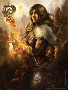 ArtStation - The fire cast, Nathalia Gomes
