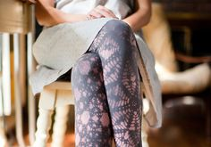 How-Tuesday: Design and Sew Your Own Leggings, by Cal Patch via The Etsy Blog