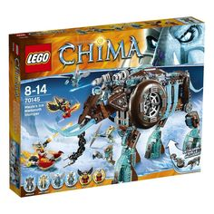 F/S Brand New LEGO Legends of Chima Maula's Ice Mammoth Stomper 70145 Japan  #LEGO
