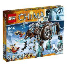 F/S Brand New LEGO Legends of Chima Maula's Ice Mammoth Stomper 70145 Japan  #LEGO