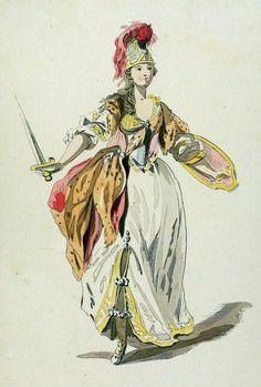 Costumes de l'Opera. 17/18th century