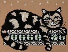 Cat - Cut Paper Art