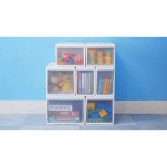 Like-it White Modular Drawers Modular Storage, Vertical Storage, Craft Storage, Small Drawers, Storage Drawers, Storage Baskets, Storage Area, Kids Room Organization, Drawer Unit