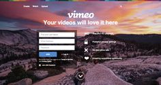 vimeo main page