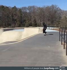 Some skate skills