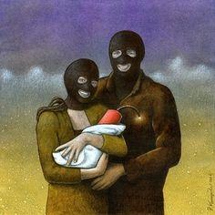 Family. Artist: Paweł Kuczyński