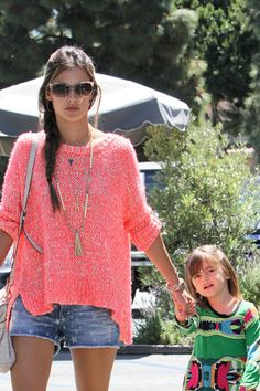 Alessandra Ambrosio Style in Los Angeles California