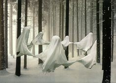 Ghosts - creative, wonder how you'd do this?!
