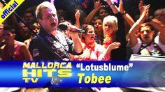 """Tobee mit seinem größten Hit, """"Lotusblume"""" - live bei der Mallorca Party Baden in Bietigheim. Mehr Infos: http://mallorcahitstv.de/2014/02/tobee-lotusblume-live/"""