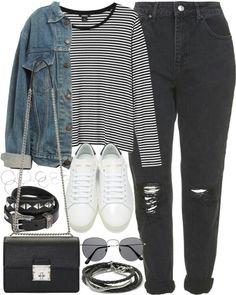 Stripies and blacky black