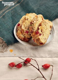 Seasons of life №6 / november-december issue. Cookies with almond and dry fruits