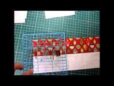 Bloco Churn Dash by Lolla Crafts - Roseli Barbosa
