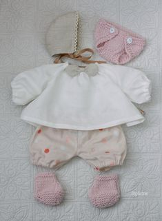 Baby doll clothes by fig and me