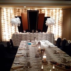 Pin by ines weddings event decoration on wedding decoration hk gatsby roaring 20s backdrop lush velvety and rich crystal and gold trimming ettridges the studio junglespirit Choice Image
