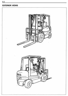 79 Best Toyota Industrial Manuals S On Pinterest. Original Illustrated Factory Workshop Service Manual For Toyota Lpg Forklift Truck South Africa. Toyota. Toyota Forklift 42 6fgcu25 Wiring Diagram At Scoala.co
