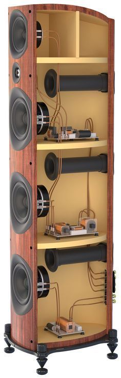best 25 floor standing speakers ideas on Audiophile Speakers, Hifi Audio, Audio Speakers, Subwoofer Box Design, Speaker Box Design, Sound Speaker, Audio Sound, Audio Design, Sound Design