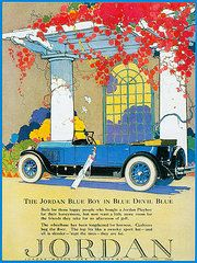 Vintage Ads Art - Jordan Motor Car Company by Vintage Automobile Ads and Posters