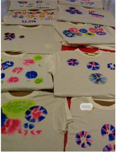 Butterfly Jungle: Fireworks T-Shirts SHARPIES AND RUBBING ALCOHOL  good pictures