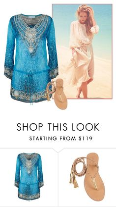 """""""min"""" by m-forever ❤ liked on Polyvore featuring ELIZABETH HURLEY beach and Cocobelle"""
