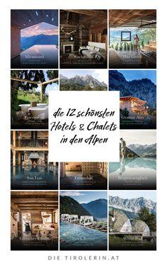 Wellness in den Bergen: die schönsten Hotels und Chalets in den Alpen