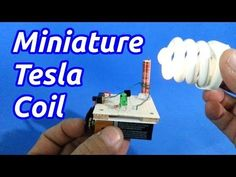MICRO TESLA COIL MAKES A PERFECT STOCKING STUFFER