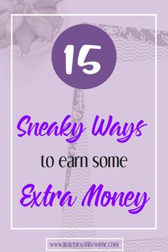 Need some extra money? Looking for ways to make money from home? Check out ways to put extra money in your pocket today!