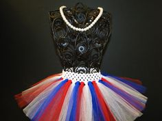 Fourth of July Tutu  Baby Girl 4th of July by BabyliciousDivas, $10.00