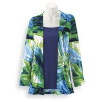 Swirling Waves Two-For Cardigan
