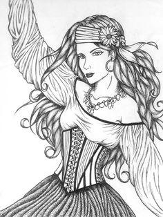 Gypsy by moonbeamfluff