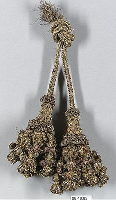 16th c, French, metal thread