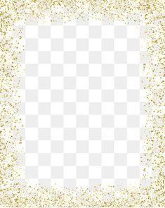 Gold color border PNG and Clipart Background Vintage, Background Patterns, Glitter Frame, Gold Glitter, Blue Glitter Wallpaper, Borders And Frames, Gold Pattern, Floral Border, Photoshop Design
