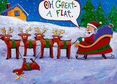 Funny Christmas Cartoons, Funny Christmas Pictures, Merry Christmas Images, Christmas Jokes, Funny Christmas Cards, Funny Cartoons, Santa Christmas, Father Christmas, Christmas Sayings