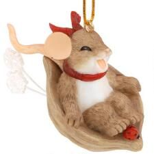 Having Fun And Just Let It Slide Charming Tails Ornament