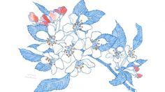 Hope Gangloff - Ballpoint Pen Art - Figurative Painting - Flower Power