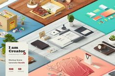 I am Creator / Perspective by LS on @creativemarket
