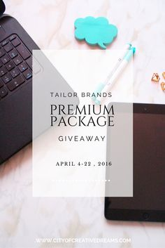 Tailor Brands Premium Package Giveaway