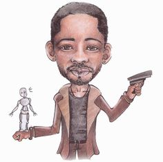 I, Robot I Am Legend, Will Smith, Caricature, Robot, Deviantart, Caricatures, Robots, Caricature Drawing