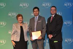 Region V Career Guidance Award winner, Jamie Vargas of West Jordan, Utah. https://www.acteonline.org/general.aspx?id=5294