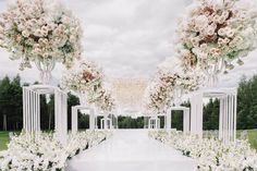 A romantic ceremony decor that got us swoon! Especially loving the overall white and blush-pink shade that complete the set with such a clean and intimate nuance. Who agrees? Hands up!    Wedding planner @caramelwedding  Decor @lidseventhouse  Photo @misha_moon  #thebridestory #weddinginspiration #weddinginspo #weddingideas #inspiration #weddingdecor #decorationinspiration #decorationinspo #decorideas #decor