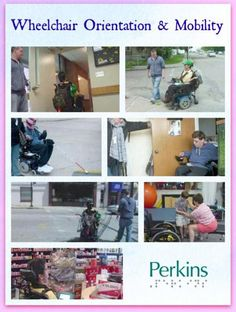 Wheelchair Orientation & Mobility with James Crawford.
