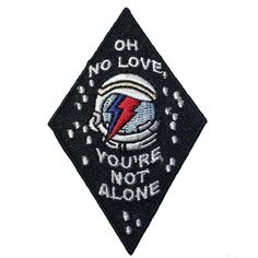 #Repost @petitemortpress Rock 'N' Roll Suicide patches are back in the shop! you can also save a few bucks when you buy your Bowie pin and patch together! Check the listing link in bio (Posted by https://bbllowwnn.com/) Tap the photo for purchase info. Follow @bbllowwnn on Instagram for more great pins!