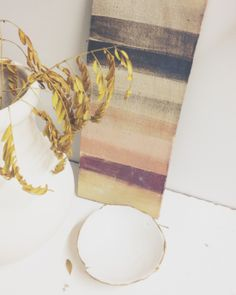 Working on color palettes. White Atelier BCN ceramics.